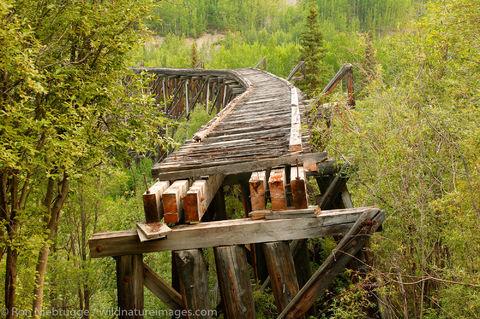 Gilahina railroad trestle