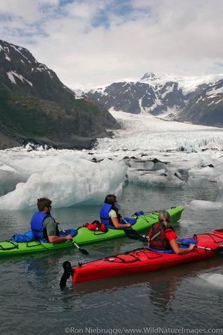 Kayaking in Pedersen Lagoon
