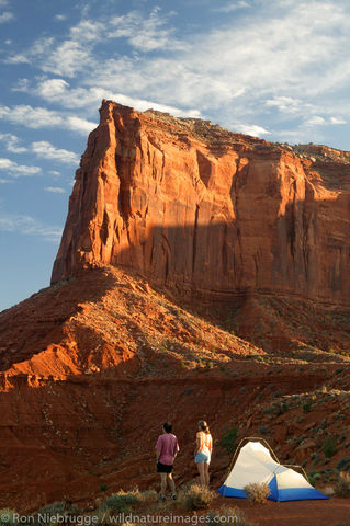Camping at Monument Valley