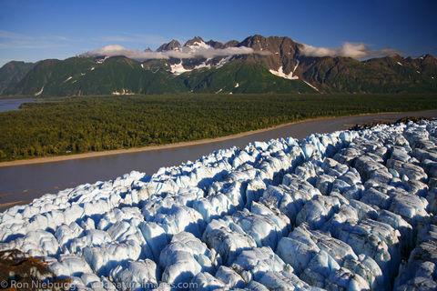 Chugach National Forest, Alaska Chugach, Childs Glacier, Copper River