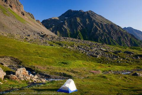 Camping on Mount Marathon