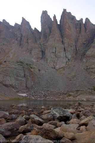 Sharktooth peaks, Rocky Mountain National Park