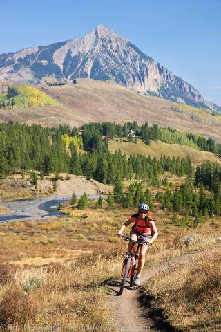 Mountain Biking, Crested Butte, Colorado