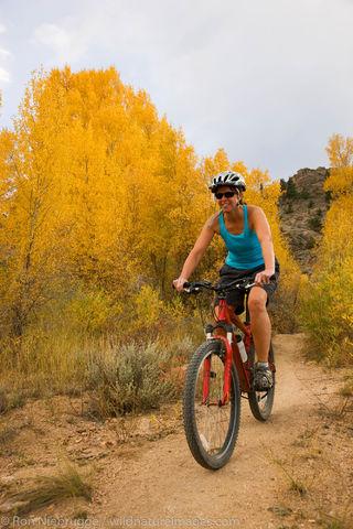 Mountain Biking, Gunnison, Colorado