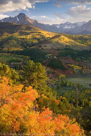 Sneffels Range, Colorado.