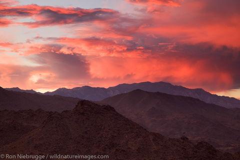 Sunset over Palm Desert