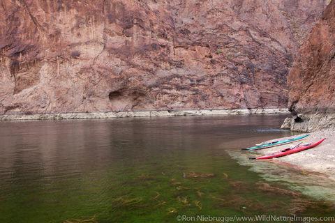Kayaking in Black Canyon