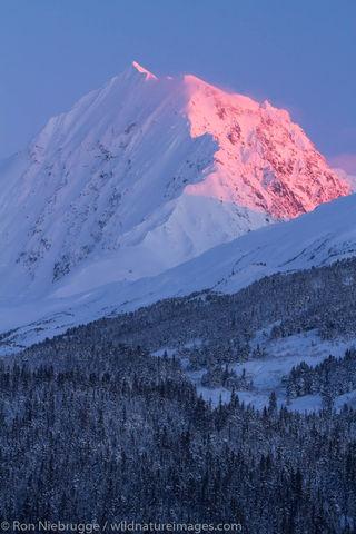 Alaska winter.