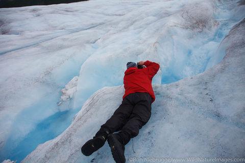 Photographing Spencer Glacier