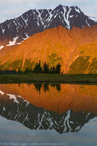Reflections near Lost Lake
