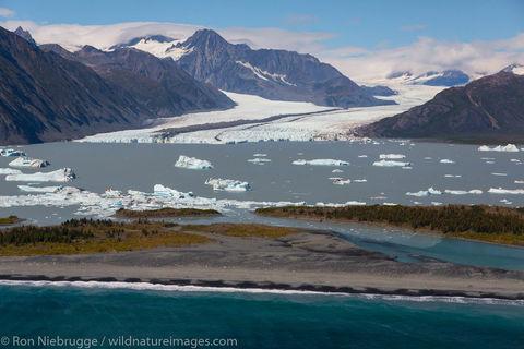 Bear Glacier Lagoon, near Seward, Alaska