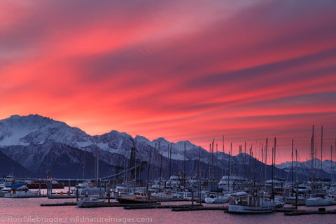 Sunrise, Seward Small Boat Harbor