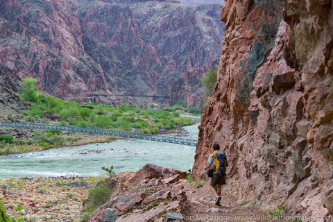 Backpackers Bright Angel Trail