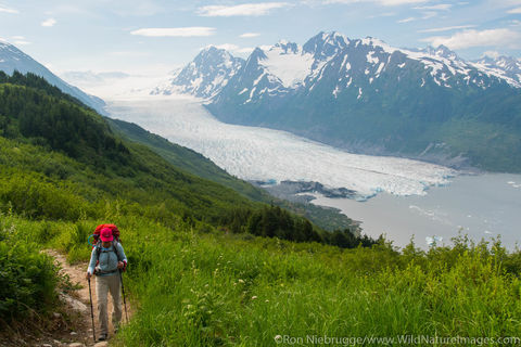 Backpacking on Spencer Glacier Trail