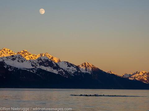 Full Moon on Resurrection Bay