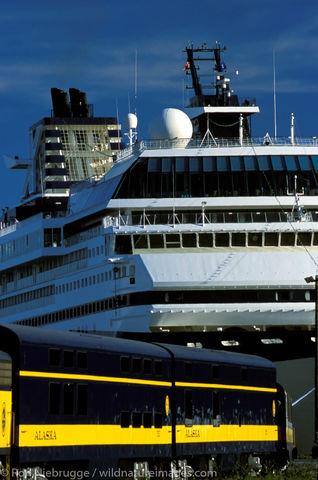 Alaska Railroad Cruiseship