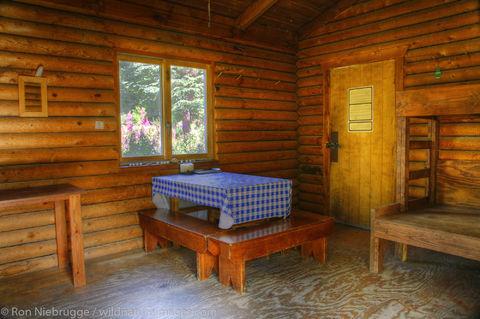 AK, Alaska, Alaskan, Americas, Barber Cabin, Chugach, Chugach National Forest, Inside, Kenai Peninsula, Lower Russian Lake, National...