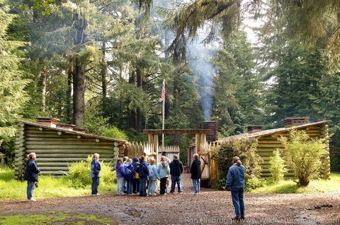 School Group at Fort Clatsop