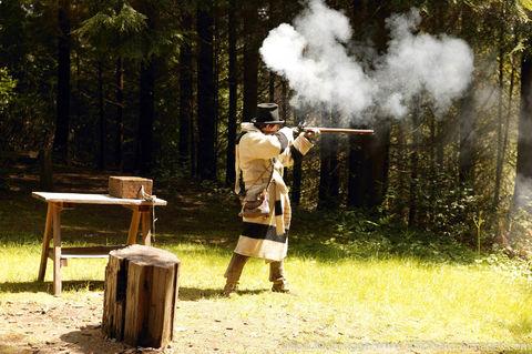 Fort Clatsop Musketloading Demonstration