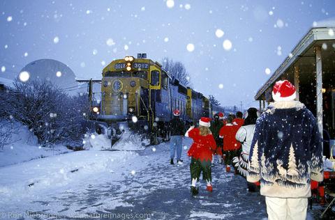 Seward Christmas Train