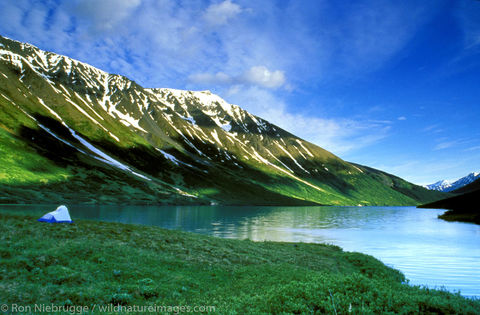 Camping Crescent Lake