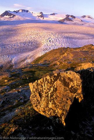 Sunrise Harding Icefield