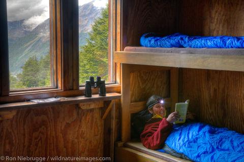 AK, Alaska, Alaskan, Americas, Chugach, Chugach National Forest, Inside, Kenai Peninsula, Lost Lake Cabin, Lost Lake Trail, Model...