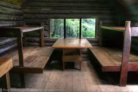 AK, Alaska, Alaskan, Americas, Chugach, Chugach National Forest, Cordova, Inside, McKinley Trail Cabin, National, North America...