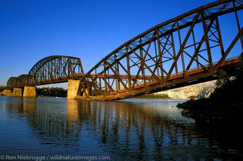 AK, Alaska, Americas, Copper River Highway, Cordova, Million Dollar Bridge, North America, North American, Ron Niebrugge, U.S...