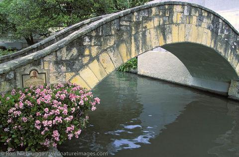 Americas, North America, North American, Riverwalk, Riverwalks, Ron Niebrugge, Rosita Fernandez, Rosita's Bridge, San Antonio...
