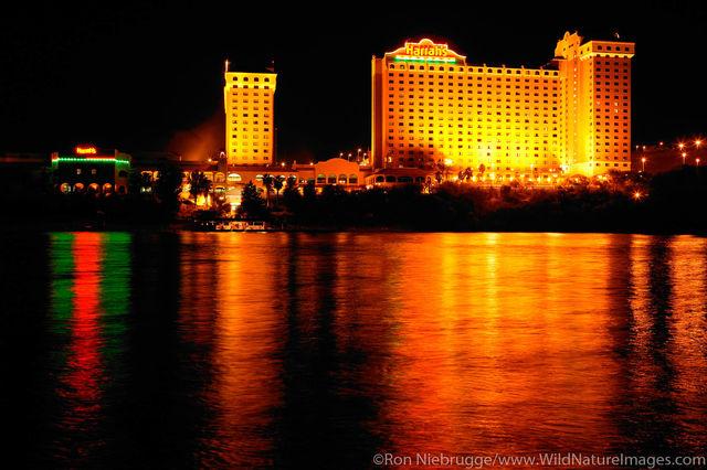 Casinos, Colorado River Laughlin, Nevada, photos