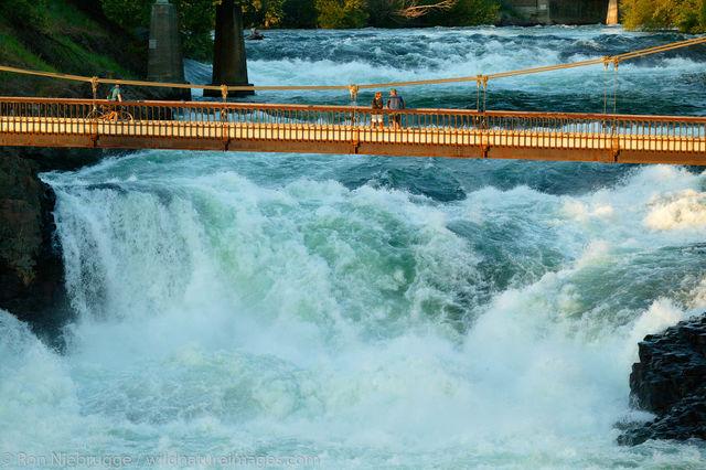 Spokane River Waterfalls