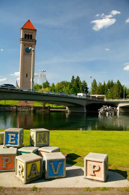 Clock Tower, Spokane