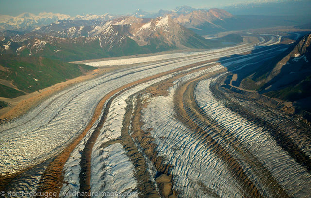 Kennicott, Gates and Root Glaciers