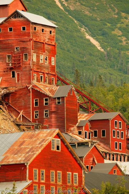 Wrangell-St. Elias National Park, Alaska, Kennicott Mill