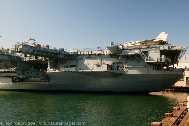 Aircraft Carrier U.S.S. Midway