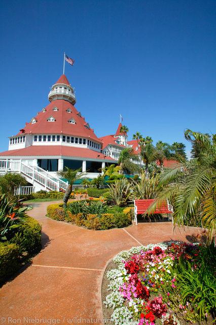 The Hotel Del Coronado, San Diego