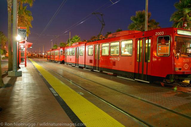 Light-rail trolley