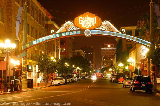 Gaslamp District San Diego