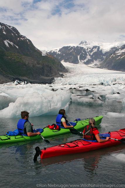 Kenai Fjords National Park, Alaska, kayaking