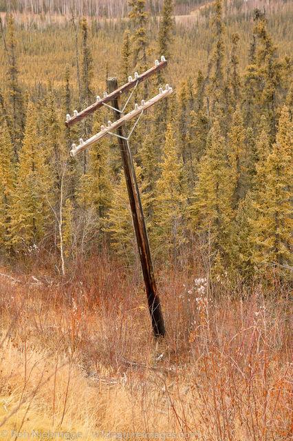Thawing permafrost damage