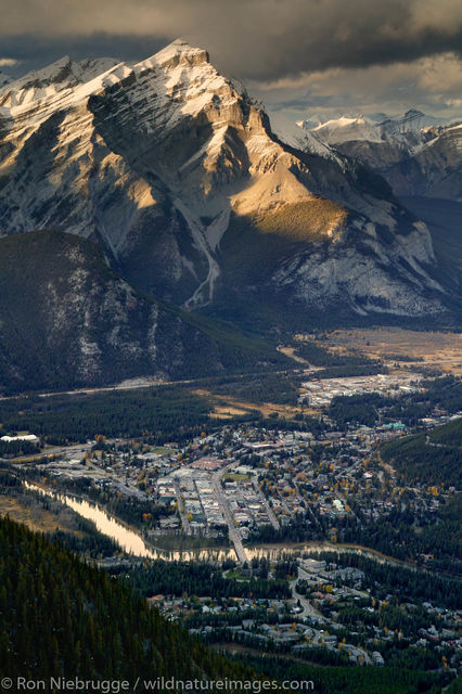view, Banff  Gondola