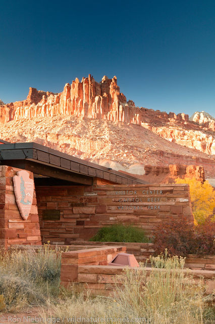 Visitor Center, Capital Reef National Park