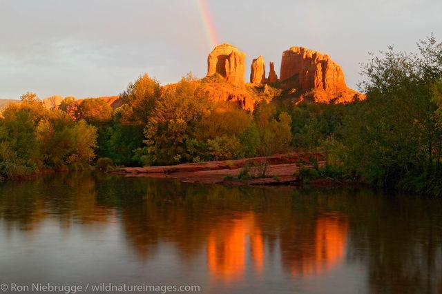 Rainbow at Oak Creek