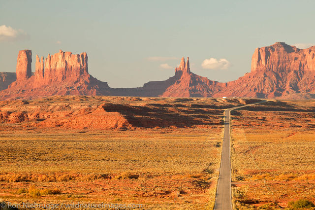 Highway 163 and Monument Valley