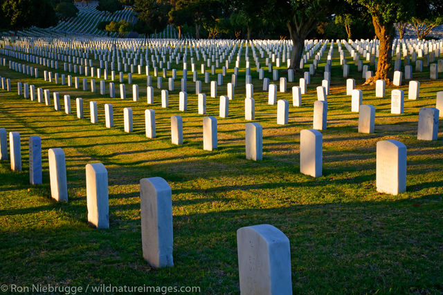 Fort Rosecrans National Cemetery on Point Loma