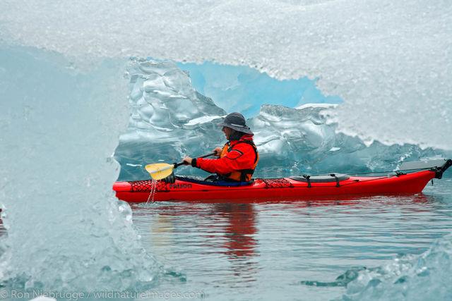 Kayaking, Prince William Sound