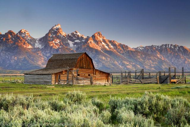 Grand Teton National Park, Wyoming, barn