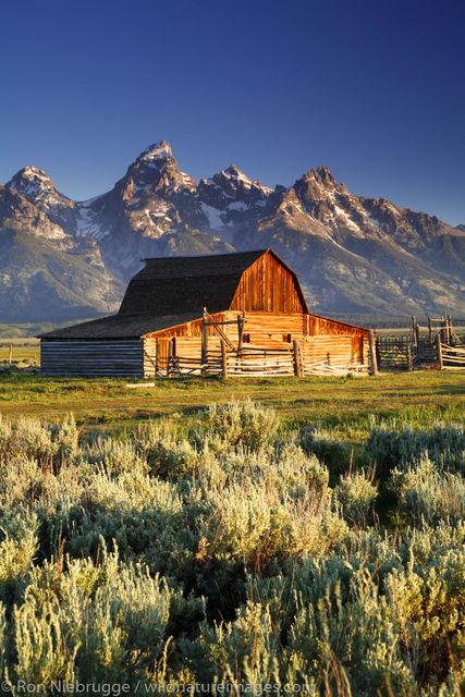 barn, Grand Teton National Park, Wyoming.