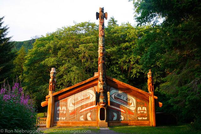 Totem bight, totem, Ketchikan, Inside Passage, Alaska